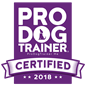 Pro Dog Training Certification badge